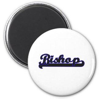 Bischofs-klassischer Job-Entwurf Runder Magnet 5,7 Cm