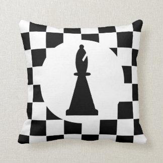 Bischofs-Schach-Stück - Kissen -