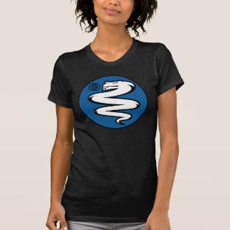 Biscione Nerazzurro Inter- (einfaches Weiß) T-Shirt