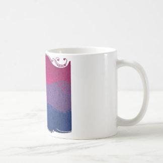 Bisexuelle dekorative Flagge Kaffeetasse