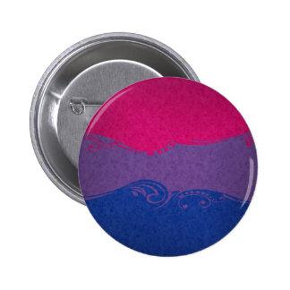 Bisexuelle dekorative Flagge Runder Button 5,1 Cm