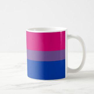 Bisexuelle LGBT Stolz-Regenbogen-Flagge Kaffeetasse