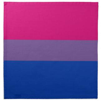 Bisexuelle LGBT Stolz-Regenbogen-Flagge Stoffserviette