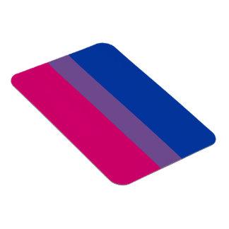 Bisexueller Flaggenmagnet Eckige Magnete