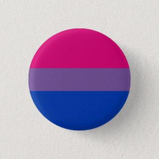 Bisexueller Stolz-Flaggen-Knopf Runder Button 2,5 Cm