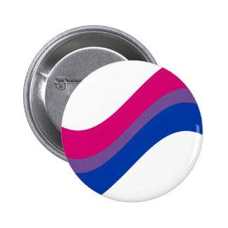 Bisexueller Stolz Runder Button 5,7 Cm