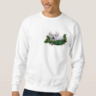 Bishon Frise das Sweatshirt der Feiertags-Männer