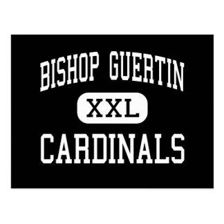 Bishop Guertin - Kardinäle - hoch - Nashua Postkarte