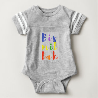 Bismillah Baby-Abnutzung Baby Strampler