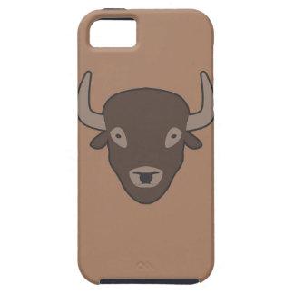 Bison brauner iphone 5 Kasten Schutzhülle Fürs iPhone 5