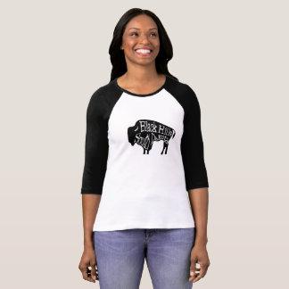 Bison-Büffel-T - Shirt Black Hills South Dakota
