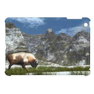Bison im Berg iPad Mini Hülle