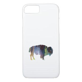 Bison-Kunst iPhone 8/7 Hülle
