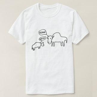 Bison-T - Shirt-Licht T-Shirt
