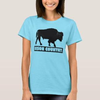 Bison-Tierdesigner-Shirt-Kleidungs-Verkauf T-Shirt