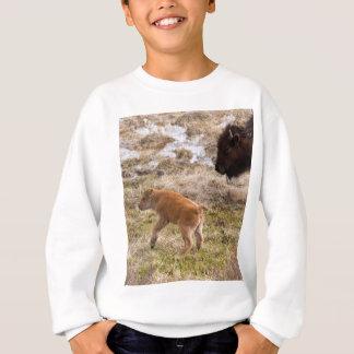 Bisone und Kalb Sweatshirt