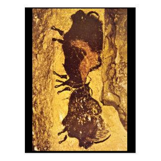 Bisons', Lascaux, Dordogne_Art des Altertums Postkarte
