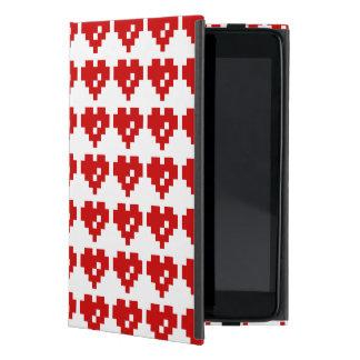 Bit-Liebe des Pixel-Herz-8 Hülle Fürs iPad Mini