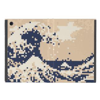 Bit-Pixel-Kunst des Pixel-Tsunami-8 iPad Mini Schutzhülle