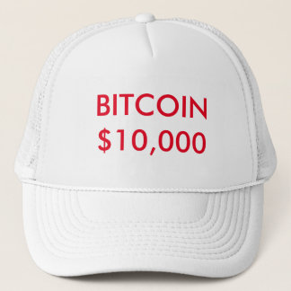 Bitcoin $10.000 Hut Truckerkappe