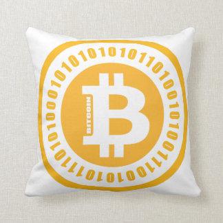Bitcoin alphanumerische Zahlen Kissen