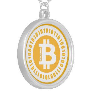 Bitcoin alphanumerische Zahlen Versilberte Kette