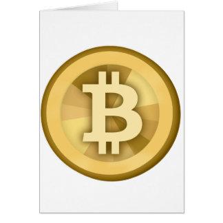 BITCOIN anonyme GELD-DIGITAL-Währung BTC Karte