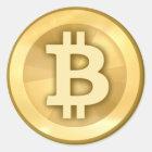 Bitcoin Aufkleber