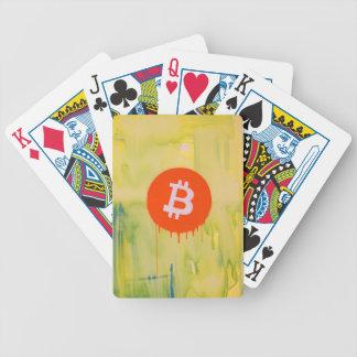 Bitcoin Bicycle Spielkarten