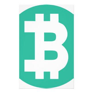 Bitcoin Briefpapier