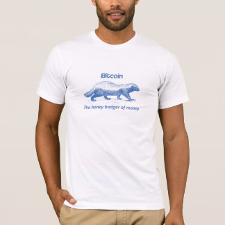 Bitcoin - der Honig-Dachs des Geldes T-Shirt