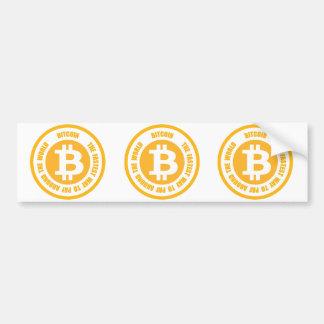 Bitcoin die schnellste Weise, auf der ganzen Welt Autoaufkleber