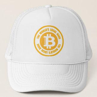 Bitcoin die Weltörtliche Bank Truckerkappe