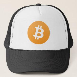 Bitcoin Fernlastfahrer-Hut Truckerkappe
