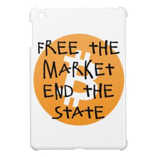 Bitcoin - geben Sie das Markt-Ende der Staat frei iPad Mini Hülle