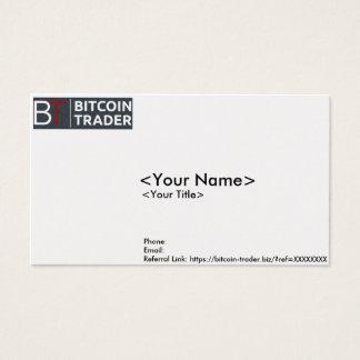 Bitcoin-Händler Geschäfts-/Kontakt-Karte Visitenkarten
