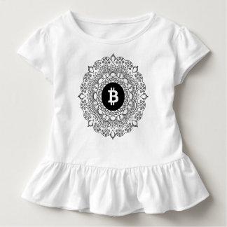 BITCOIN/HENNA-Girl Rüsche-T - Shirt