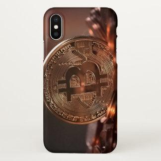 Bitcoin iPhone X Hülle