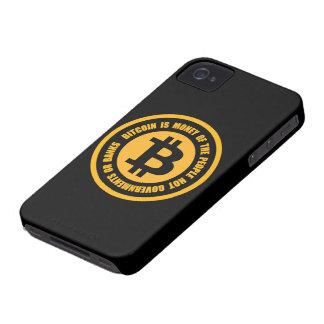 Bitcoin ist Geld der Leute-nicht Regierungen Case-Mate iPhone 4 Hülle