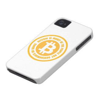 Bitcoin ist Geld der Leute-nicht Regierungen iPhone 4 Cover