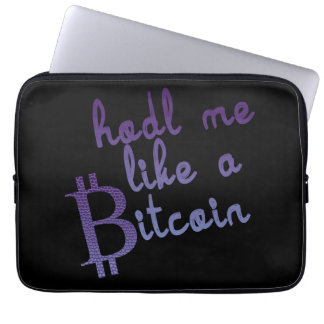 Bitcoin Laptopkasten Laptop Sleeve