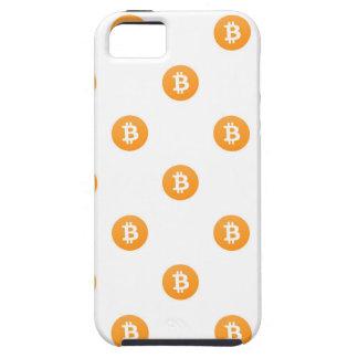Bitcoin Logo-Muster iPhone 5 Etui