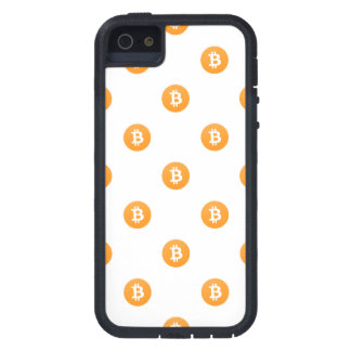 Bitcoin Logo-Muster Schutzhülle Fürs iPhone 5