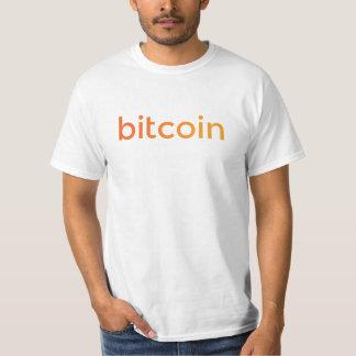 Bitcoin Logo-Steigung T-Shirt