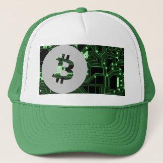 Bitcoin Logo-Symbol Cryptocurrency Truckerkappe
