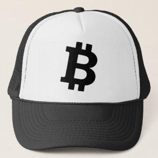 Bitcoin Logo Truckerkappe