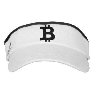 Bitcoin Logo Visor