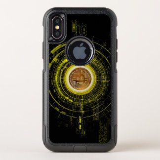 Bitcoin OtterBox Commuter iPhone X Hülle