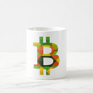 BITCOIN/PATTERN-Mug Kaffeetasse