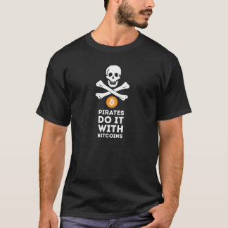 Bitcoin Piraten-Shirt T-Shirt